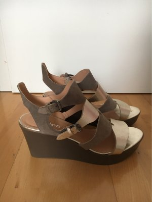 Lamica Platform High-Heeled Sandal multicolored