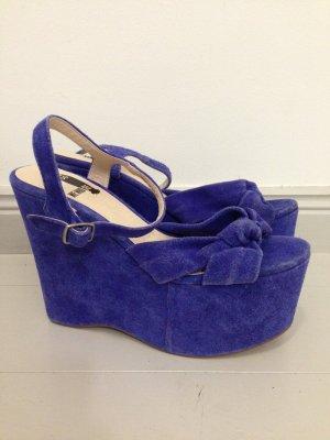 Urban Outfitters Schoenen blauw Suede