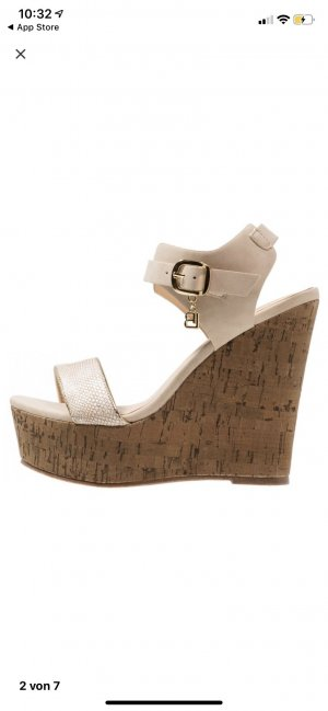 Laura biagiotti Platform High-Heeled Sandal rose-gold-coloured