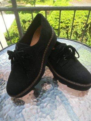 Graceland Patucos con plataforma negro