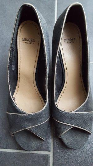 Plateau Schuhe peeptoos