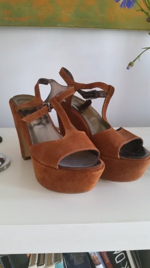 Plateau Schuhe, Sandalen, ungetragen