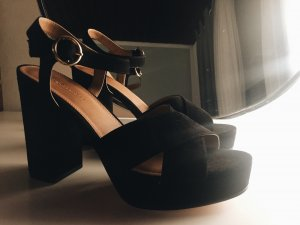 Plateau Schuhe schwarz Asos Party new Summer bloggerfashion