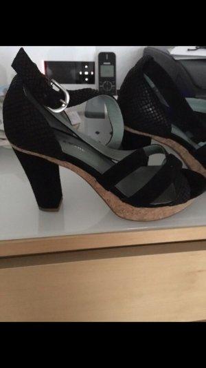 More & More Sandales à talons hauts noir