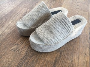 Plateau Schuhe von Zara