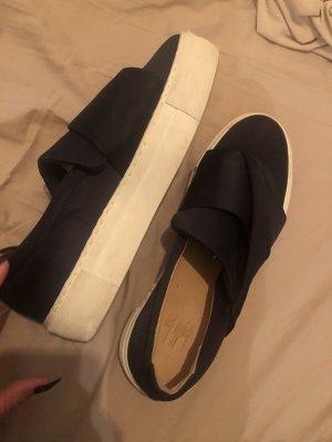 Billi Bi Slip-on Sneakers dark blue