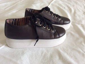 Plateau Sneaker Schwarz Gr.38