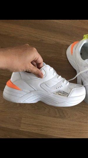 Plateau Sneaker weiß 41