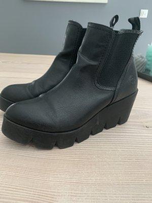 Plateau Stiefelette Ankleboots von Marco Tozzi