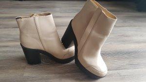 Plateau Stiefeletten Ankle Boots