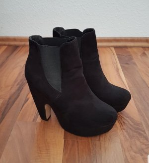 Atmosphere Platform Booties black