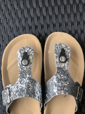 Tkmaxx High-Heeled Toe-Post Sandals multicolored