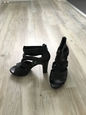 5th Avenue Platform Sandals black