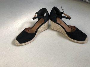 H&M Sandalo con cinturino nero-marrone chiaro