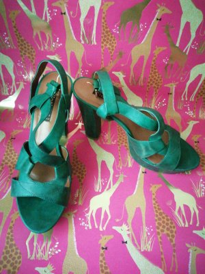 Cinti High Heels forest green