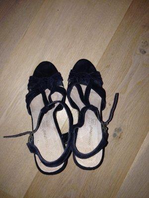 Atmosphere Platform Sandals black-beige