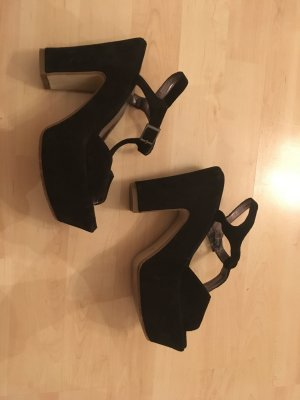 Sisley Platform High-Heeled Sandal black