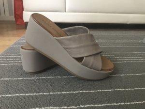 Platform High-Heeled Sandal mauve