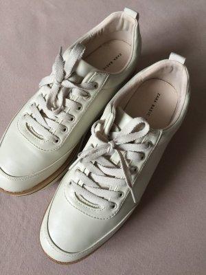 Zara Heel Sneakers cream-oatmeal