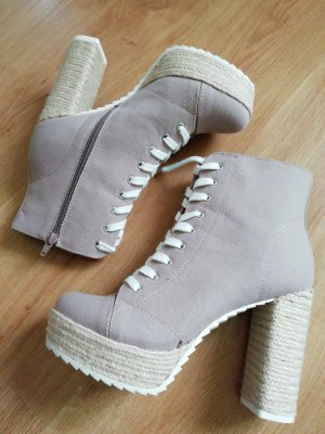Catwalk Booties rose-gold-coloured-beige