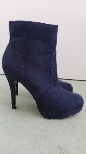 Plateaustiefeletten dunkelblau von Graceland