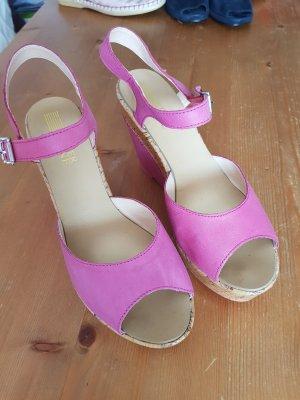 Pier one Platform High-Heeled Sandal pink
