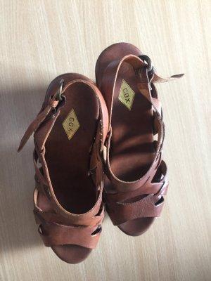 Plateu Pumps Sandale Gr.38