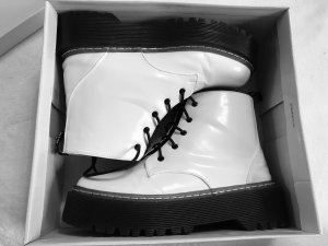 Snow Boots white-black
