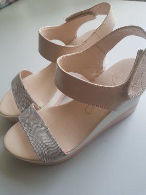 Platform High-Heeled Sandal dusky pink