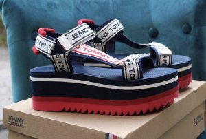 Tommy Jeans Sandalo outdoor multicolore