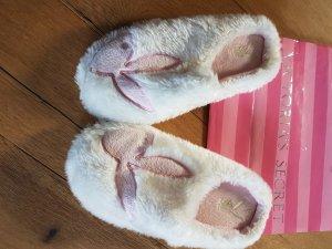Playboy Mules white-light pink