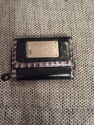 Playboy Portemonnee zwart-zilver