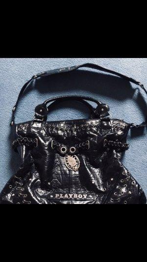 Playboy Handtas zwart Leer