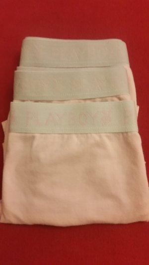 Playboy Pantalone pigiama rosa pallido Tessuto misto