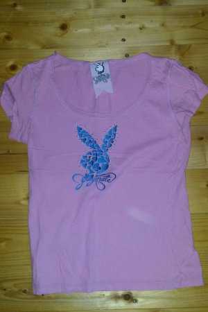 Playboy Shirt in XS glitzer