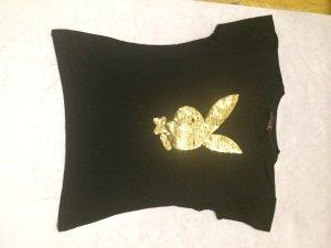 Playboy Shirt Pailletten