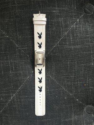 Playboy Uhr , schwarz weiß