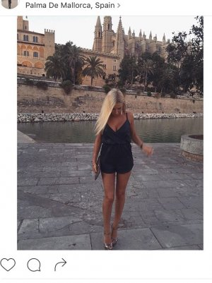 Playsuit aus Lederimitat