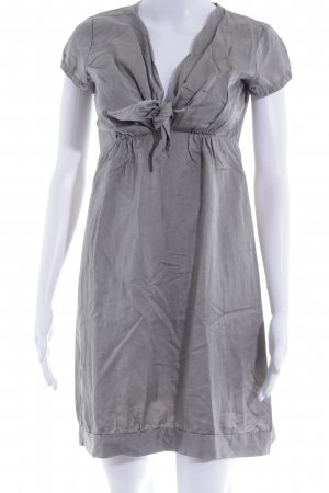 Please A-Linien Kleid taupe Matt-Optik