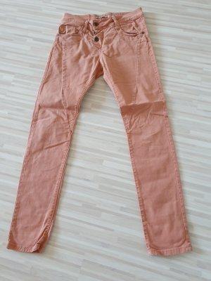 Please Pantalon boyfriend marron clair