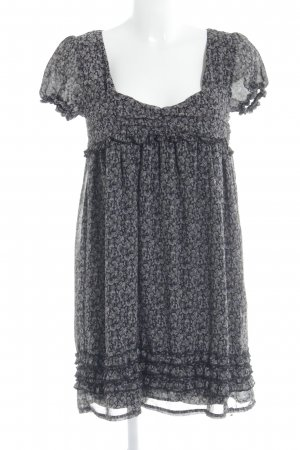 Please Babydollkleid Blumenmuster Hippie-Look