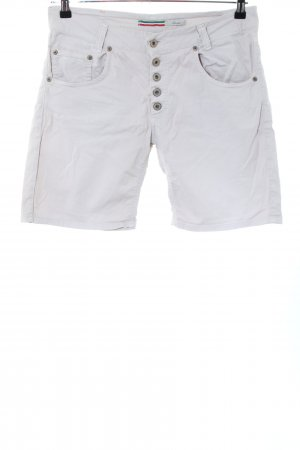 Please Bermudas white casual look