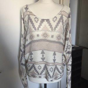 Please Boho Oversize Pullover Gr. S/M