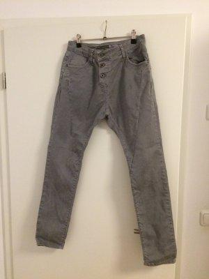 PLEASE Boyfriend Jeans grau