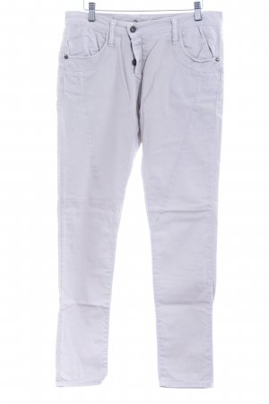 Please Boyfriendhose hellbeige minimalistischer Stil