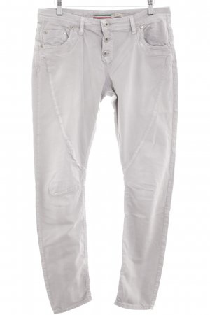 Please Pantalón boyfriend gris claro look casual