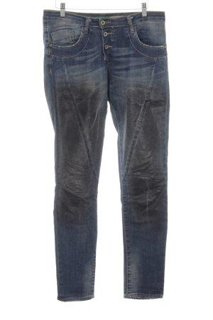 Please Boyfriendjeans blau Jeans-Optik