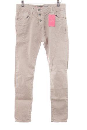 Please Jeans boyfriend beige style décontracté