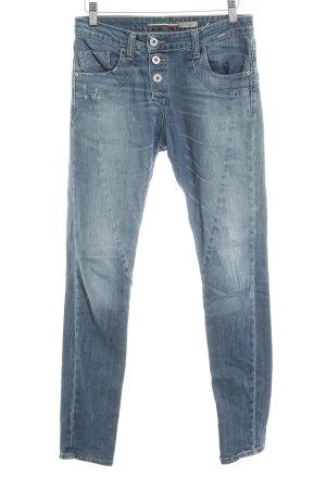 Please Boyfriend Jeans pale blue jeans look
