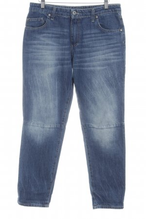 Please Boyfriendjeans blau Casual-Look